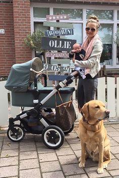 Leuk geboortebord!   Artikel: De luiertas van… Debbie van der putten | UrbanMoms.nl