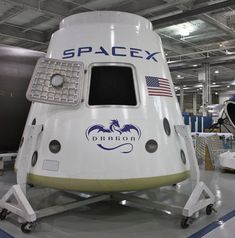 Commercial Space Exploration ~   SpaceX shuttle Dragon