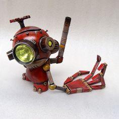 Tinker the Junkyard Munny 1 by TheYoshinator.deviantart.com on @deviantART