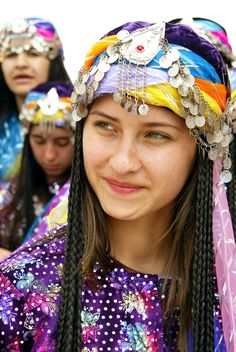 Europe/Asia. Southeastern Europe/Western Asia. Turkish girl (Turkey Russian and Kazakhstan are the only countries that are in TWO continents! Asia AND Europe.). Köylü Güzeli , Turkey