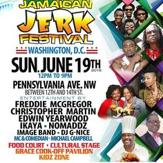 Come for the food stay for the fun! #washingtondc #festival #jamaicanfood #brandjamaica #JerkFestival #jerkpork #jerkchicken #reggae #foodfestival #foodie #reggaemusic by dickielue