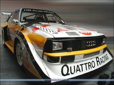 sport quattro gif | Pin Audi Sport Quattro Concept Video First Look on Pinterest