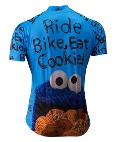 Cookie Monster Sesame Street Muppets Cycling Jersey Men s Brainstorm Gear  with Sox - LOVE2PEDAL.COM 7c099cd1e