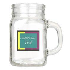 Chamomile Tea Mason Jar