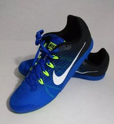 961c7a984d2 Nike Zoom Rival D 9 Distance Mens Track w spikes Cobalt Blue Sz 11 Shipped  with USPS Priority Mail.