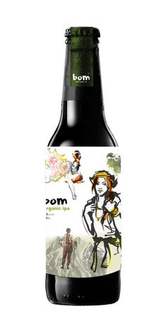 bom craft beer co. by sarah murphy, via Behance