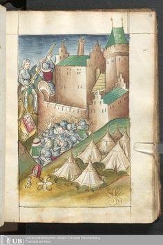 121 [60r] - Ms. germ. qu. 15 - Bellifortis - Page - Mittelalterliche Handschriften - Digitale Sammlungen Elsaß, [um 1460]