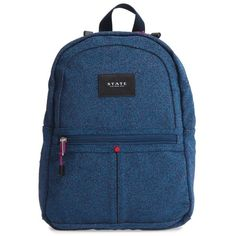 fdfef5031ed Women s State Bags Mini Kane Backpack ( 65) ❤ liked on Polyvore featuring  bags, backpacks, navy beaded sparkle, backpack bags, navy bag, miniature  backpack ...