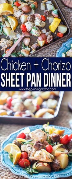 Factors You Need To Give Thought To When Selecting A Saucepan Delicious Chicken And Chorizo Sheet Pan Dinner-Quick And Easy Dinner Idea Vegan Pizza Recipe, Pizza Recipes, Chicken Recipes, Fast Recipes, Chicken Meals, Baked Chicken, Dinner Recipes, Healthy Recipes, Baked Goat Cheese