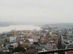 haliç, istanbul.  #sea #sky #view #vista #rooftops #vscocam #vsco