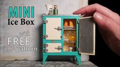 Check out this exciting maileg dollhouse - what an ingenious type Dollhouse Miniature Tutorials, Miniature Dollhouse Furniture, Miniature Crafts, Miniature Houses, Miniature Dolls, Diy Dollhouse Miniatures, Miniature Dollhouse Accessories, Mini Houses, Dollhouse Food