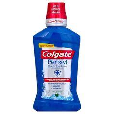 Colgate Peroxyl Mouth Sore Mint Rinse 16oz : Target