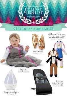 Gift Guide for Infants #CMBNWishList2014 | City Moms Blog Network