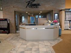 Don't forget to stop by or say hi at the receptionist desk if you need some assistance. #riemerfloors, #carpet, #hardwood, #tile, #ceramic, #laminate