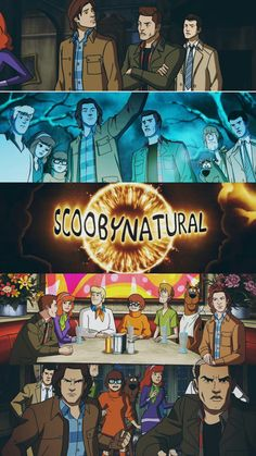 This episode was amazing! Supernatural Impala, Supernatural Cartoon, Supernatural Wallpaper, Supernatural Tv Show, Scooby Doo Mystery Incorporated, Shaggy And Scooby, Destiel, Superwholock, Marvel