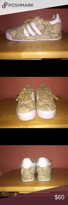 Adidas Samoa Snakeskin Brand new. Clean. Never been worn. Snakeskin pattern. No box. adidas Shoes Sneakers