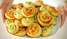 GIRELLE SALATE ALLE ZUCCHINE Ricetta Facile – Homemade Zucchini Rolls Easy…
