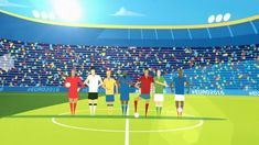 """This is """"UEFA Fantasy Games - McDonald's Daily by Cub Studio on Vimeo, the home for high quality videos and the people who love them. Mcdonalds, Cubs, Animation, Fantasy, Studio, Games, Sports, Antarctica, Infographics"""