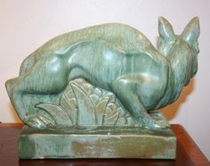 Art Deco fox