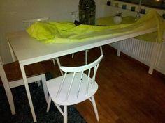 Ikea Melltorp ruokapöytä 6:lle, 175cm pitkä, 30€