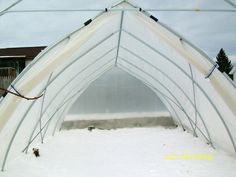 14 x 20 ft Gothic Arch Greenhouse
