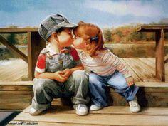 """Le régime broderie """"Kiss"""" - Plans auteur «GoodMommy» - Point de Croix"""