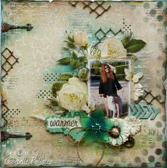 Happy Memories {Dusty Attic and Websters Pages} - Such a pretty mess