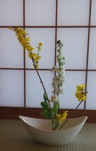 Japon Sanat Merkezi / Sema Suaydin - ikebana, flower arrangements, flowers,生け花 アート,生け花 , flowers