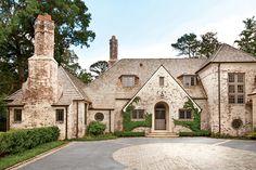 Charming Home Exteriors. Atlanta Manor House Home Exterior