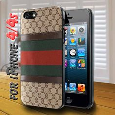 gucci vintage boston Black Case for iphone 4