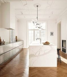 Home Design, Interior Design Kitchen, Interior And Exterior, Nordic Design, Best Kitchen Designs, Deco Design, Home Living, Beautiful Kitchens, Interior Design Inspiration