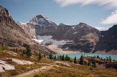 Lake Louise area in Canada.