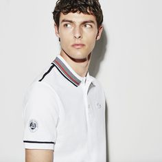 Full-on Roland Garros spirit for this Lacoste Sport polo with piping along the collar. Its vibrant tones and iconic petit piqué crafting will get you noticed. Lacoste Clothing, Polos Lacoste, Lacoste Sport, Neck Lines, Sport Wear, Polo Ralph Lauren, Vibrant, Crafting, Spirit
