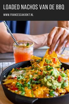 Tex mex barbecue: great garden party with friends - Francesca Kookt Quick Healthy Meals, Healthy Recipes, Bbq Nachos, Bbq Desserts, Bbq Pitmasters, Good Food, Yummy Food, Tex Mex, Snacks