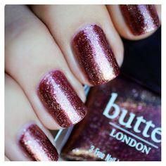 Butter London Brown Sugar #rocktheyear #butterlondon