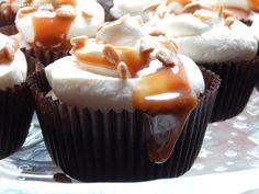 caramel cupcakes / karamell törtchen
