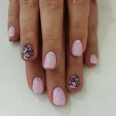 A bit of pink marble