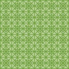 Green Seamless Islamic pattern
