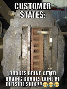 If you don't know what's wrong your not a mechanic.