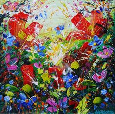 Buy Power Petals, Acrylic painting by Andrew Alan Johnson on Artfinder. Discover thousands of other original paintings, prints, sculptures and photography from independent artists.