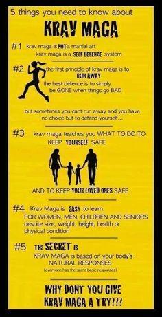 Krav Maga defined!! Love It