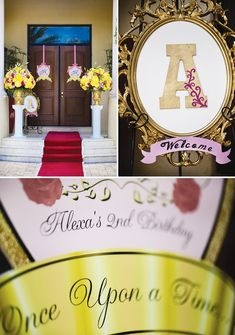 Beauty and the Beast Theme Princess Party {Part 1} // Hostess ...