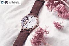 Love pic taken by willabella =) #customwatch #flower #beautiful #bestgift #giftidea #watches