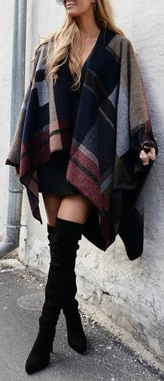 Poncho sweater.                                                                                                                                                                                 More