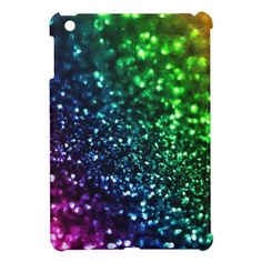 Cool Rainbow Glitter Cases Case For The iPad Mini