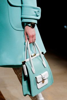 What a beautiful silhouette, fir both the coat and the bag! Lovely 60s influence. miu miu spring 14