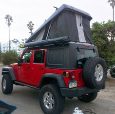 Roof top tents assemble in seconds, which allow you more time around the campfire and less time fiddling with tent poles.