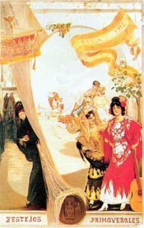 Sevilla. Fiestas de Primavera, 1913