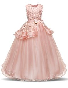 445394546327 Little Lady Kids Dresses For Girls Christmas Dress Clothes Teenager  Princess Wedding Gown Vestidos 5 6 7 8 9 10 11 12 13 14 Year