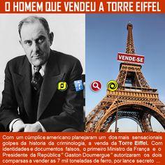 O Blog do JF: O Homem que Vendeu a Torre Eiffel